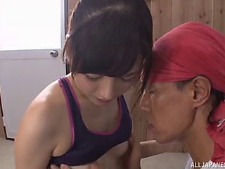 Mizuho loves to work out but this babe can't live without the screwing far greater quantity!