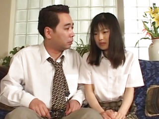 Enjoyable chick Anna Kuramoto groans as that babe receives her bawdy cleft gangbanged